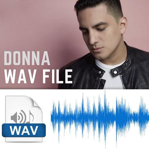 DONNA - WAV FILE