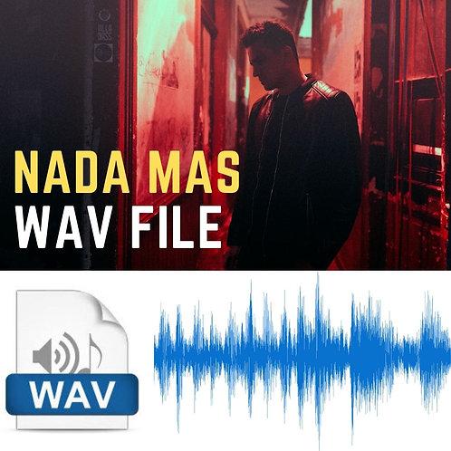 NADA MÁS - WAV FILE