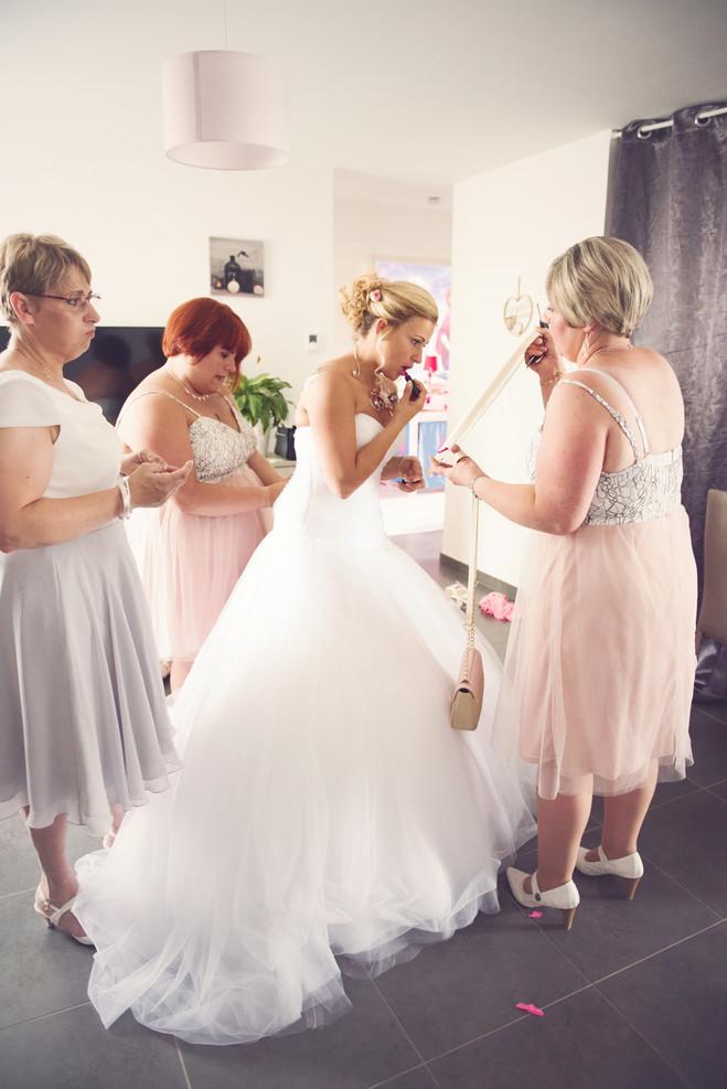 photo préparatif mariage