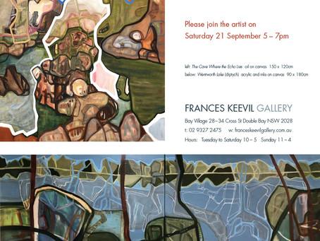 Solo Exhibition at Frances Keevil Gallery Sydney