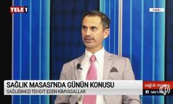 Tele1 TV'de Sağlığımızı Tehdit Eden Kimyasallar hk Söyleşi