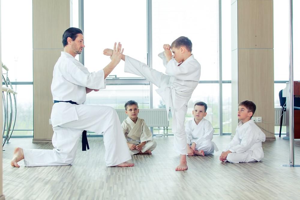 Brazilian Jiu Jitsu and Kids