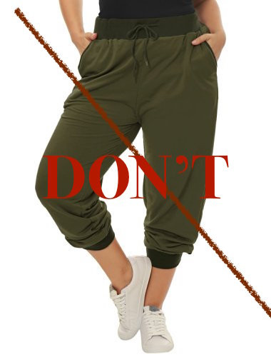 Baggy Workout Pants: DONT