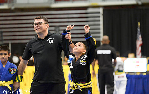 BJJ and setting goals to keep kids off the street
