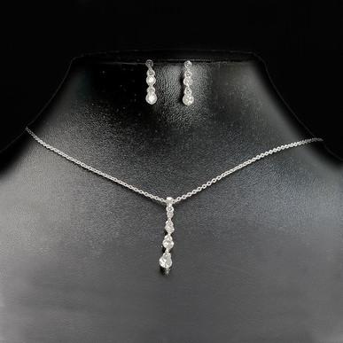 diamante bridal jewellery