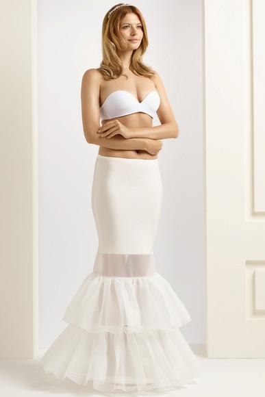 H8-190 fishtail mermaid wedding underskirt