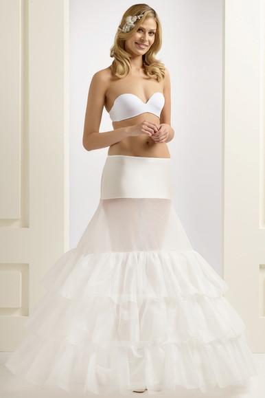 H5-370 extra wide full wedding underskirt