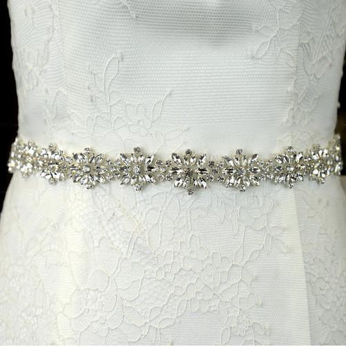 diamante rhinestone bridal belt