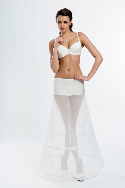 a-line bridal underskirt