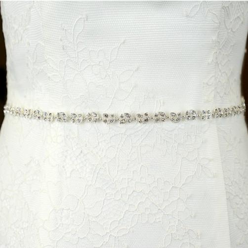 narrow wedding belt