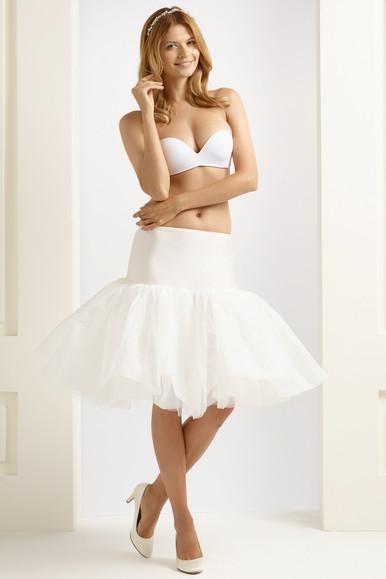 H16 short 1950's style ruffled underskirt