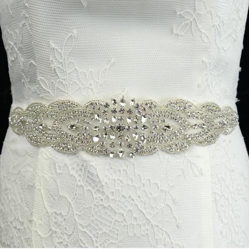 rhinestone bridal belt