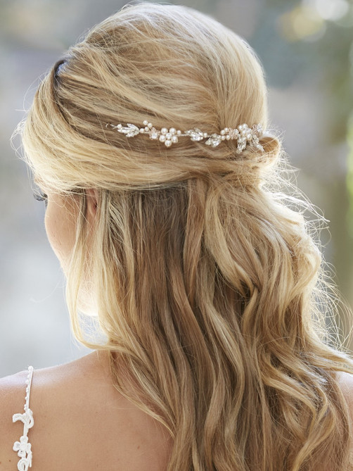 bridal hair acessory