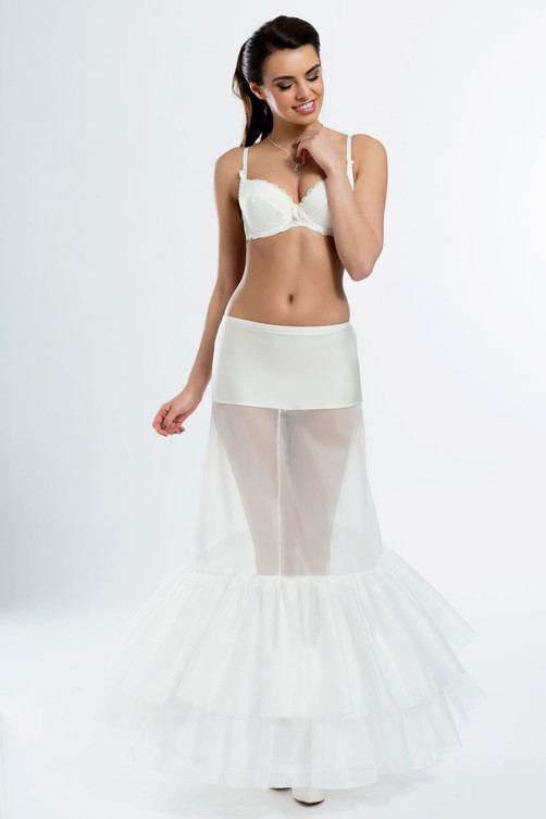 fit and flare wedding underskirt