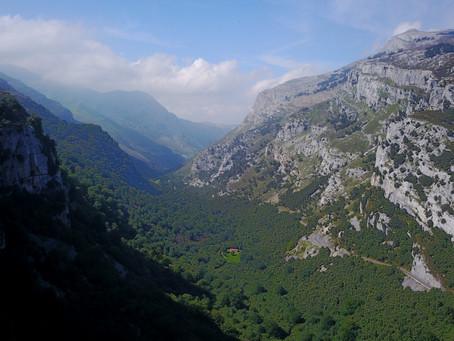 Hoy volaremos en el Nacimiento del Rio Ason (Cantabria)