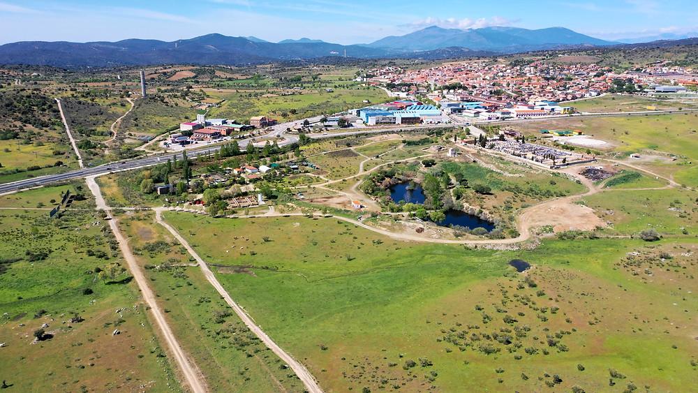 Ubicación de Kuna Ibérica en la localidad madrileña de Navas del Rey, a la que se accede cómodamente por la M-501.