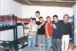 Men's Dorm in back of Kitchen