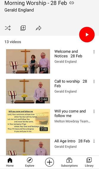 Morning Worship 28th February