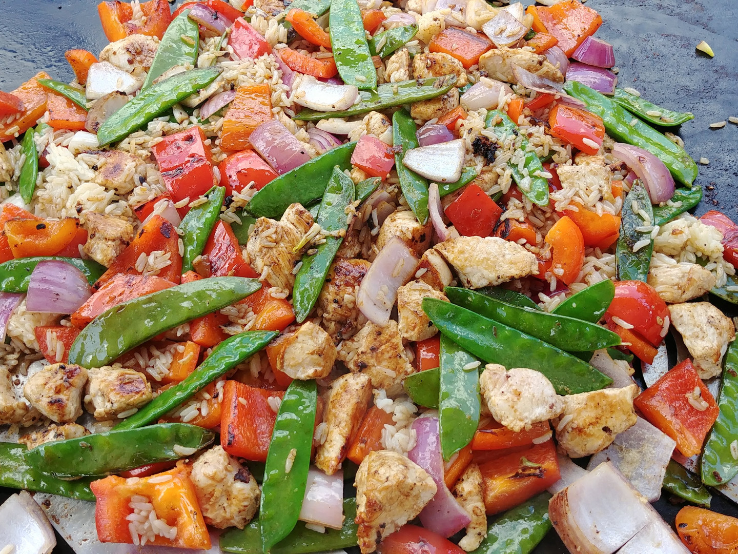 Griddle Stir-Fry