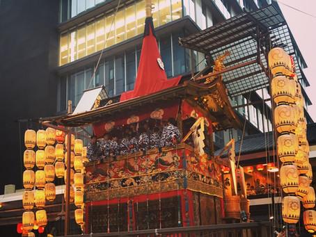 祇園祭にいってきました!