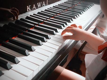 リトミック→ピアノレッスン
