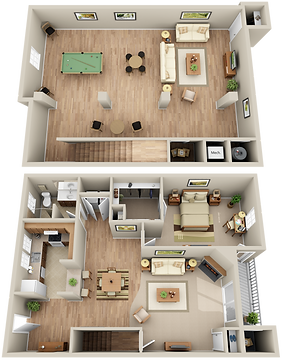 Hunters Glen Bi Level 1 Bedroom 1 Bathroom