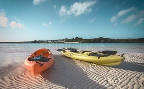 Sortie kayak à Man'O'War Cay