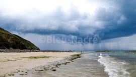 L'orage sur la baie du Mont - Carolles
