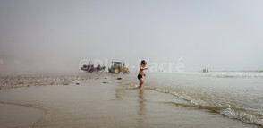 Brume de mer à Jullouville