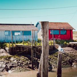 Maisons de pêcheurs à la Tremblade