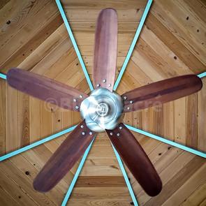 Ventilateur de plafond à Paradise Bay