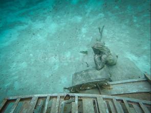 Le piano sous l'eau de David Copperfield (2)