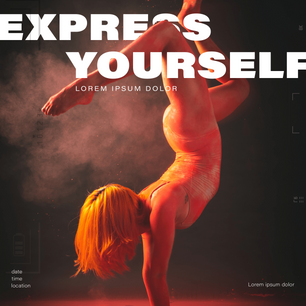 Express Yourself - Human as a graphic
