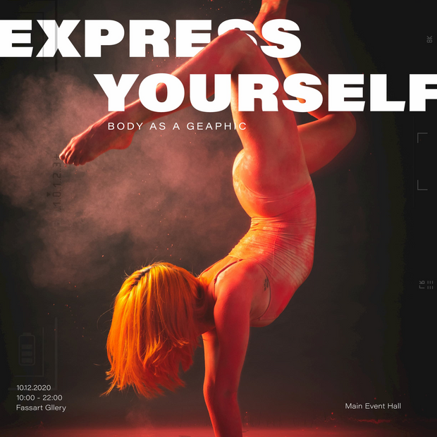 Express Yourself - Body As A Graphic