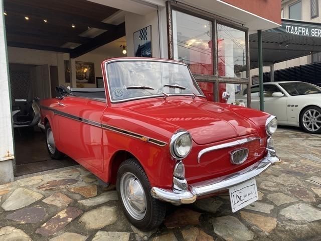 1961 Autobianchi BianchinaI