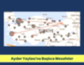 Ayder-Yaylasina-Baslica-Mesafeler