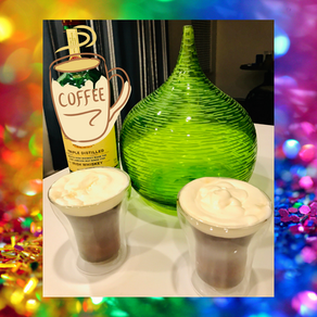 Making Irish Coffee