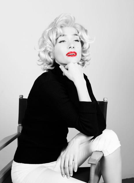 Lella Satie as Marilyn Monroe