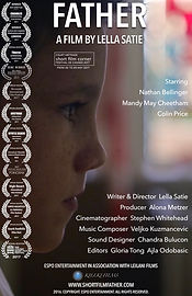 Film Poster Father by Lella Satie PAGES
