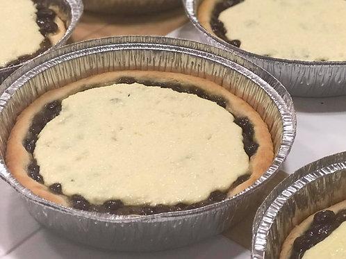 Raisin Belgian Pie