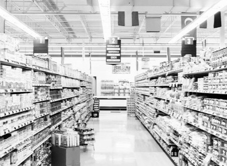 The grocery store...