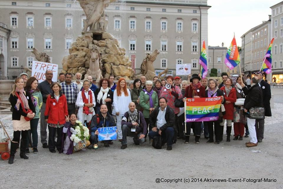 Friedensveranstaltung Salzburg