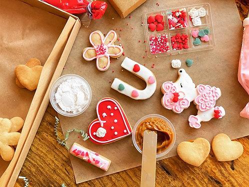DIY Valentines Cookie Kit