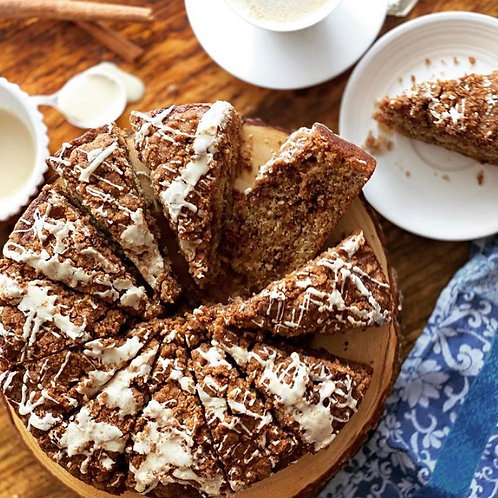 Cinnamon Streusel Banana Coffee Cake