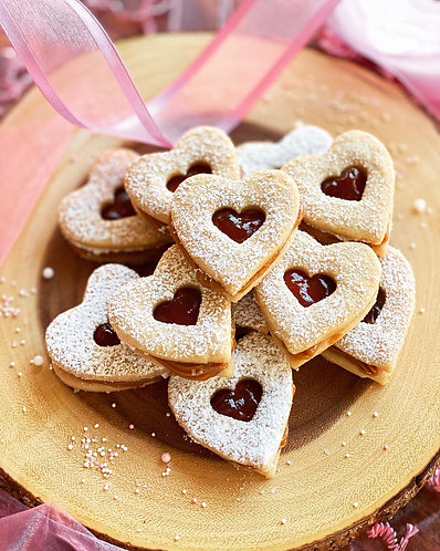 Linzer Cookie Box