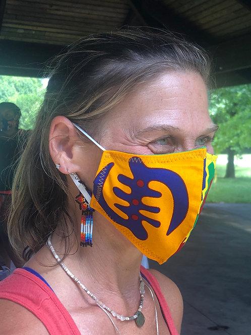 African Printed Masks