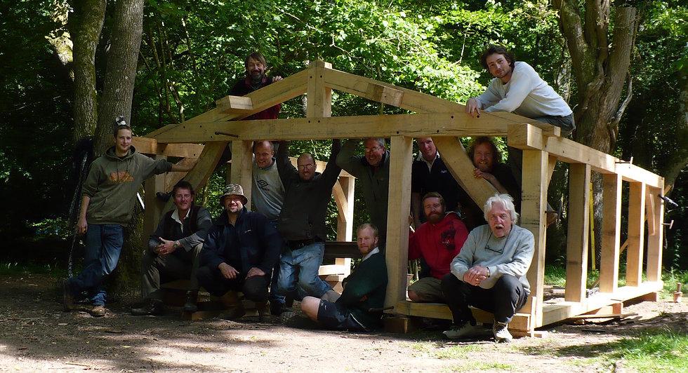 Oak frame course