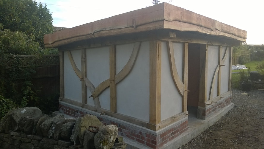 Steves shed complete