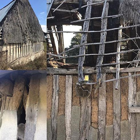 #timberframe #wattleanddaub #thatch #jow