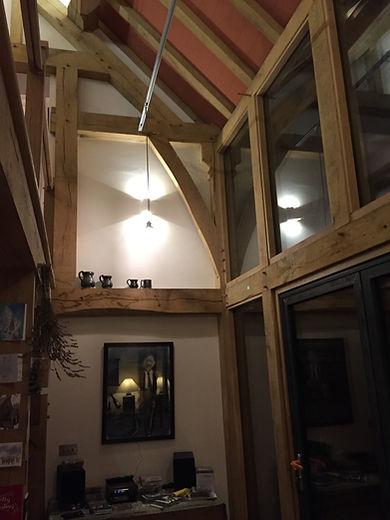 Oak Frame House by Hewnwood Oak Frame, B